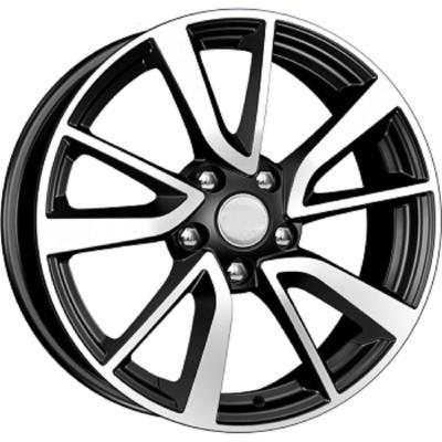 Диск K&K Nissan Juke (КСr699) 7xR17 5x114.3 мм ET47 Алмаз черный 65555 nissan juke аксессуары купить в ростове