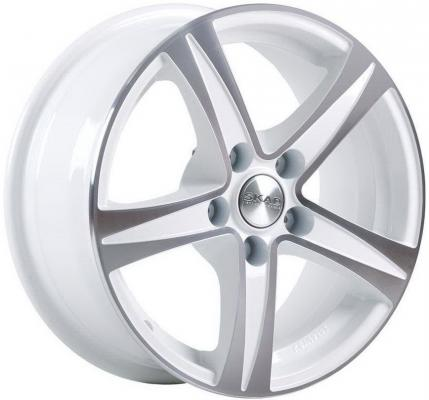 Диск Скад Sakura 6.5xR15 5x114.3 мм ET43 Алмаз белый колесные диски скад sakura 6 5х16 5х114 3 ет38 67 1 алмаз