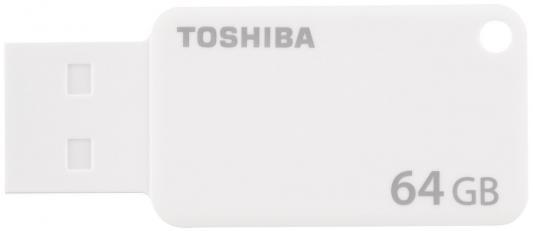 Флешка USB 64Gb Toshiba Suzaku U303 THN-U303W0640E4 белый от 123.ru
