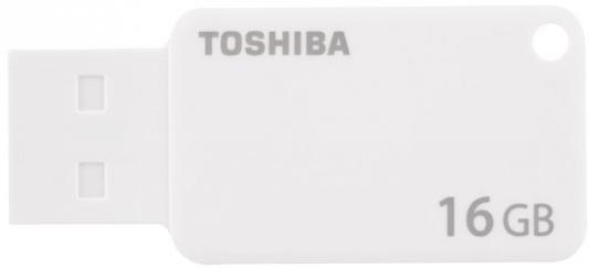 Флешка USB 16Gb Toshiba Suzaku U303 THN-U303W0160E4 белый