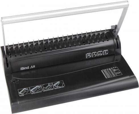 Переплетчик Gladwork iBind A8 A4 перфорирует 8 листов сшивает 145 листов пластиковые пружины 16мм