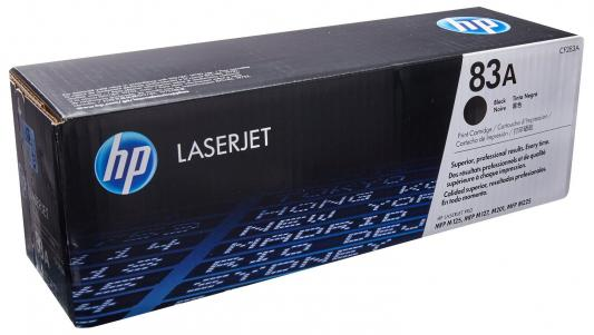 Картридж HP 83A CF283AF для HP LaserJet Pro M125 M126  M128 M201 M225 черный cf283a 283a 283 83a compatible toner cartridge for hp laserjet pro m127nf m126nf m125nw m125 m126 m127 m128 m201 m225 series