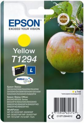Картридж Epson C13T12944012 для Epson SX420W/BX305F желтый картридж epson t009402 для epson st photo 900 1270 1290 color 2 pack