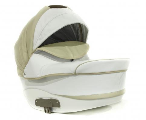 Купить Коляска 2-в-1 Lepre Formula (шасси white/цвет 5/бежевый-белый), Коляски 2 в 1