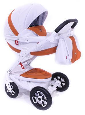 Коляска 2-в-1 Tutek Timer ECO (шасси white/цвет eco101) коляска детская tutek timer 2 в 1