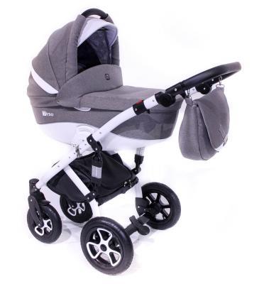 Коляска 2-в-1 Tutek Tirso (шасси white/ntr104) коляска детская tutek timer 2 в 1