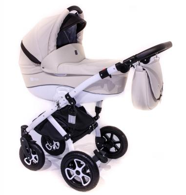 Коляска 2-в-1 Tutek Tirso ECO (шасси white/ntre101) детская коляска 3 в 1 esspero magic grand шасси white