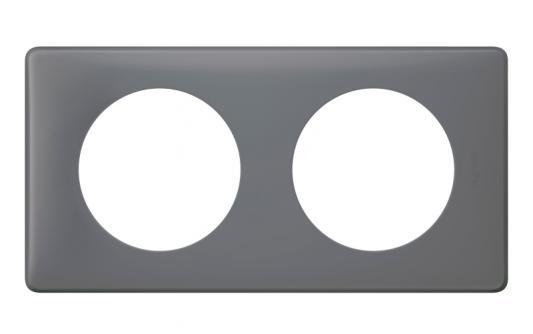 Рамка 2-постовая Legrand Celiane Фиолетовая перкаль 66732 переключатель legrand celiane на 2 направления нажимной 6ах 67015