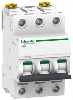 Автоматический выключатель Schneider Electric iC60N 3П 6A В A9F78306