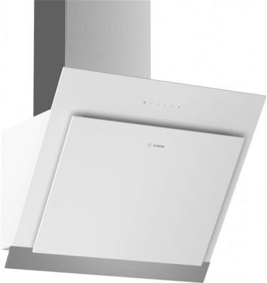 Вытяжка каминная Bosch DWK67HM20 белый вытяжка bosch dwa06e651