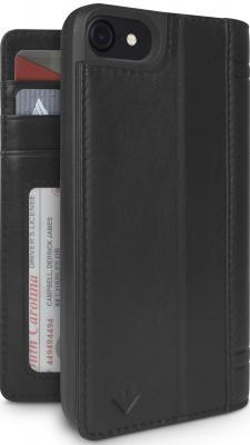 купить Чехол-книжка Twelve South Journal для iPhone 7 чёрный онлайн
