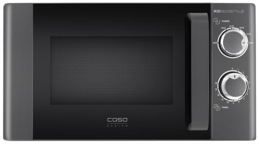 СВЧ CASO M20 Ecostyle 700 Вт чёрный свч lg ms 2042db 700 вт чёрный