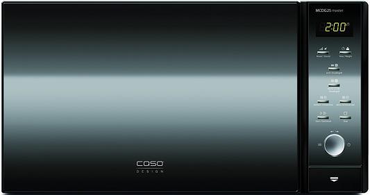 СВЧ CASO MCDG 25 Master 900 Вт чёрный микроволновая печь caso mcdg 25 master 4 in 1