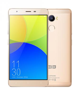 Смартфон Elephone C1 16 Гб золотистый C1_2GB_16GB_Gold new elephone a8 android smartphone 7 0 quad core cpu 5 inch dis hot 17oct25 drop ship f