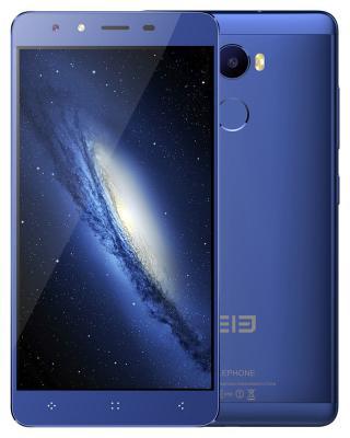Смартфон Elephone C1 синий 5.5 16 Гб LTE Wi-Fi GPS 3G C1_2GB_16GB_Blue elephone r9 цена