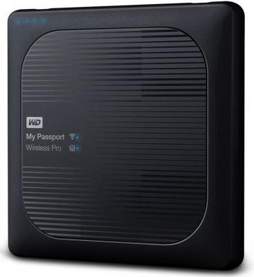 Внешний жесткий диск 2.5 USB3.0 4 Tb Western Digital My Passport Wireless Pro WDBSMT0040BBK-RESN черный t5 car 5 0mp digital video camcorder w 4 ir led 4x digital zoom 2 7 tft