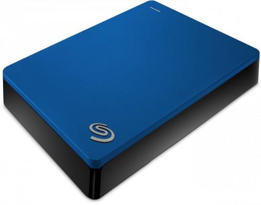 Внешний жесткий диск 2.5 USB 3.0 5Tb Seagate Backup Plus Portable синий STDR5000202 3 5 8000gb seagate stel8000200 usb3 0 backup plus hub черный