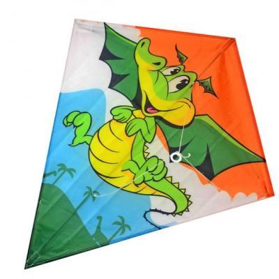 Воздушный змей X-Match Динозаврик, 60х70 см воздушный змей x match динозаврик 60х70 см