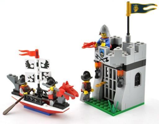 Конструктор BRICK Осада 1017 111 элементов