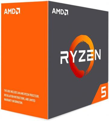 Процессор AMD Ryzen 5 1600X YD160XBCAEWOF Socket AM4 BOX без кулера