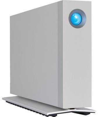 "Внешний жесткий диск 3.5"" USB3.1 10Tb Lacie d2 Thunderbolt3 STFY10000400 серебристый"