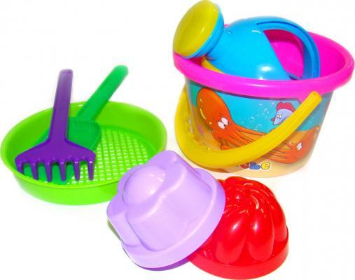 Песочный набор Полесье №224 7 предметов 658 набор для кормления крошка я первый подарок малышу 2849357 7 предметов