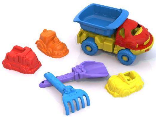 Купить Набор для песка Нордпласт Набор №113 6 предметов 106514, Ведерки, лопатки и формочки для детей