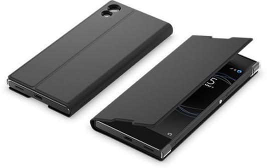 Чехол SONY SCSG30 для Xperia SM11 черный чехол для фотоаппарата sony lcj rxf бежевый