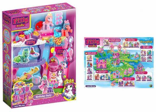 """Игровой набор Filly """"Королевские лошадки"""" - День рождения D136011-3850"""