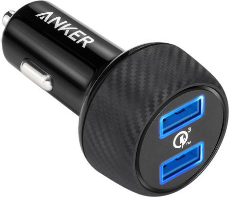 Автомобильное зарядное устройство ANKER A2228H11 2 х USB 3А черный