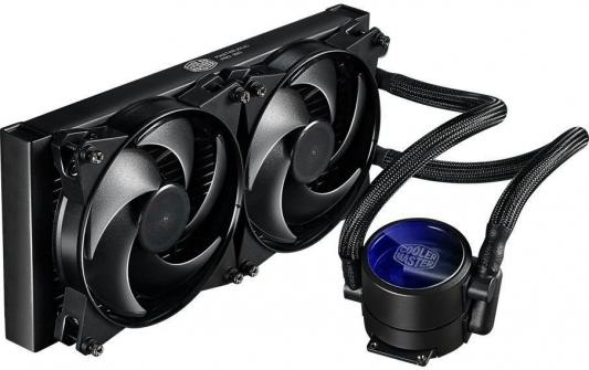 Водяное охлаждение Cooler Master MasterLiquid Pro 280 MLY-D28M-A22MB-R1 Socket 775/1150/1151/1155/1156/1356/1366/2011/2011-3/AM2/AM2+/AM3/AM3+/FM1/AM4/FM2/FM2+