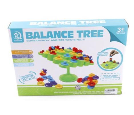 Настольная игра семейная Shantou Gepai Балансирующее дерево  631212