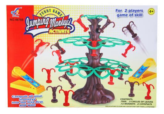 Настольная игра для вечеринки Shantou Gepai Веселые мартышки 631214 настольная игра для вечеринки shantou gepai стена с шариками 631217