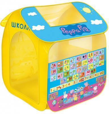Игровая палатка РОСМЭН Учим азбуку с Пеппой. Peppa Pig 30010