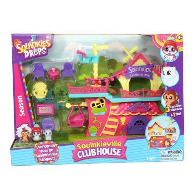 Игровой набор Squinkies Клуб друзей 31796 5 предметов