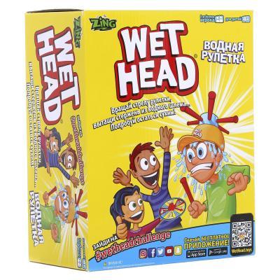 Настольная игра Wet Head спортивная Водная рулетка ZG657