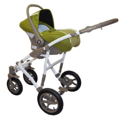 Купить Автокресло для коляски Camarelo Figaro Carlo Typu Kite (цвет fi-3), Зеленый, Группа 0+ (0-13кг/от рождения до 1 года)