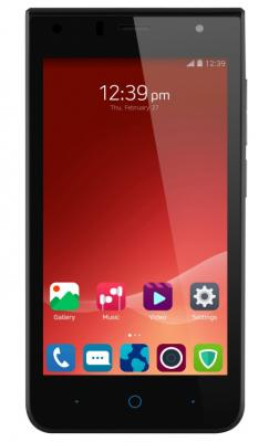 "Смартфон ZTE Blade A210 черный 4.5"" 8 Гб LTE Wi-Fi GPS 3G"