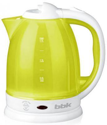 Чайник BBK EK1755P 1500 Вт белый лайм 1.7 л пластик