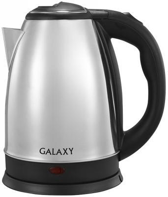 Чайник GALAXY GL0312 1800 Вт серебристый чёрный 1.8 л нержавеющая сталь