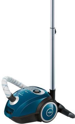 Пылесос Bosch BGL252000 сухая уборка голубой