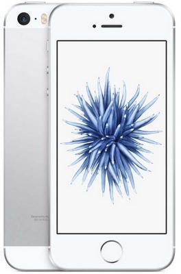 "Смартфон Apple iPhone SE серебристый 4"" 32 Гб NFC LTE Wi-Fi GPS 3G MP832RU/A от 123.ru"