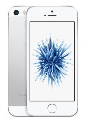 "Смартфон Apple iPhone SE серебристый 4"" 128 Гб NFC LTE Wi-Fi GPS 3G MP872RU/A"