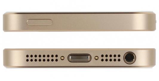 """Смартфон Apple iPhone SE золотистый 4"""" 128 Гб NFC LTE Wi-Fi GPS 3G MP882RU/A от 123.ru"""