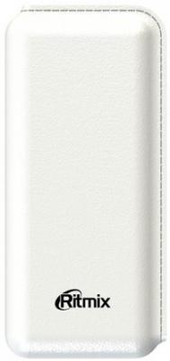 Портативное зарядное устройство Ritmix RPB-10001L 10000мАч белый