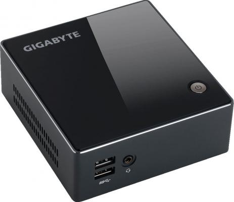 Платформа GigaByte BRIX GB-BACE-3010 Intel Celeron-N3010 Intel HD Graphics 400 Без ОС черный GB-BACE-3010 платформа для сборки неттопа gigabyte brix gb bsi5ht 6200 core i5 6200u 2 3ghz hd graphics 520 noos black