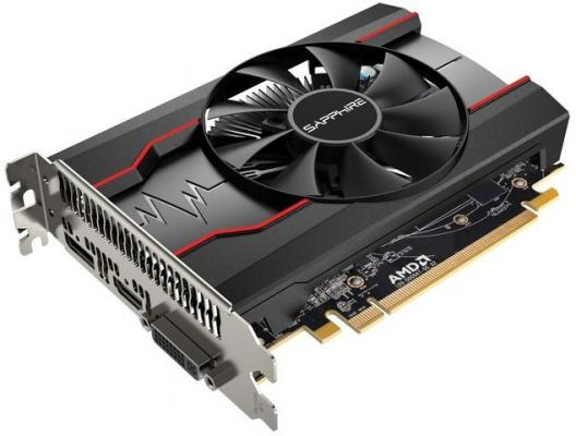 Видеокарта 2048Mb Sapphire Radeon RX 550 PCI-E DVI HDMI DP 11268-03-20G Retail видеокарта sapphire radeon rx 460 2g oc 2048 mb 1090mhz pci e 3 0 gddr5 128bit dvi dp hdmi hdcp 11257 00 20g