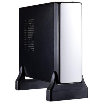 Корпус microATX Exegate MI-213L 450 Вт чёрный серебристый EX249493RUS корпус microatx exegate mi 205l 300 вт чёрный серебристый ex249478rus