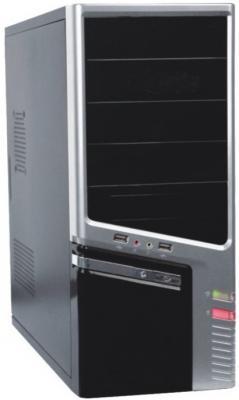 Корпус ATX Super Power Winard 3040 C Без БП серебристый чёрный