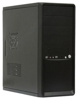 Корпус ATX Super Power Winard 3010 Без БП чёрный серебристый